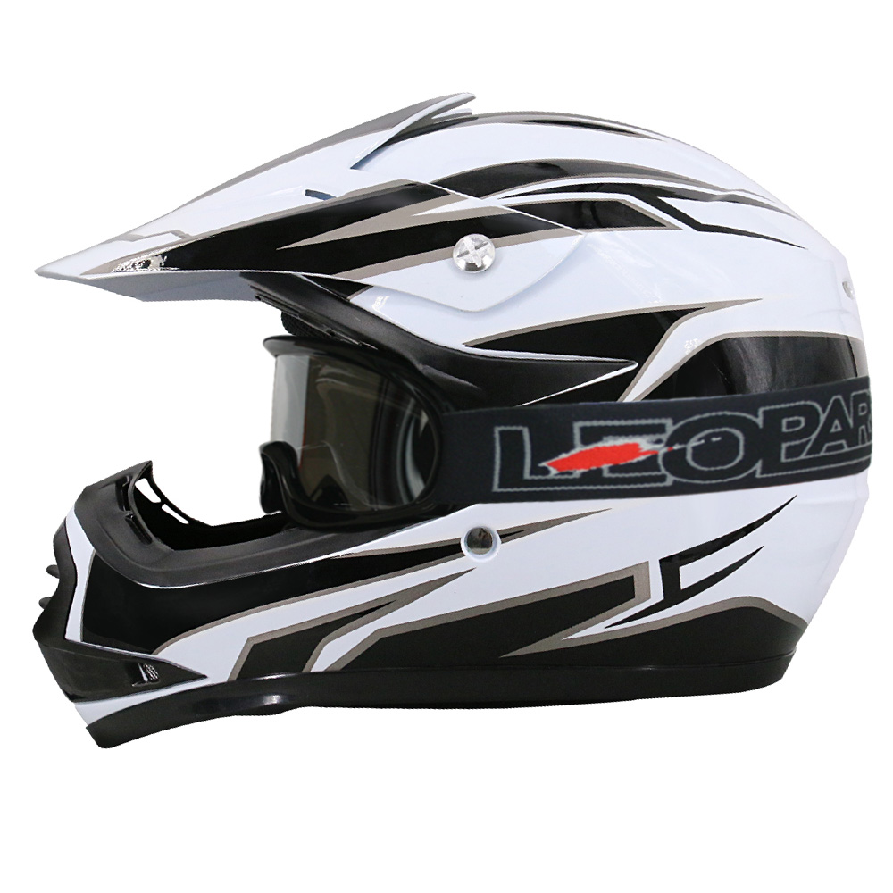 leopard leo x16 casque bol de motocross mx off road. Black Bedroom Furniture Sets. Home Design Ideas