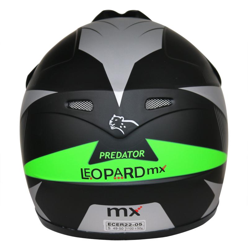 LEOPARD-LEO-X19-Enfants-Casque-de-Moto-Cross-Gants-Off-Road-Bike-Quad miniature 20