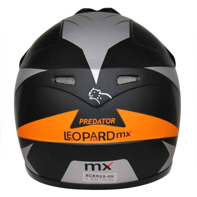 LEOPARD-LEO-X19-Enfants-Casque-de-Moto-Cross-Gants-Off-Road-Bike-Quad miniature 56