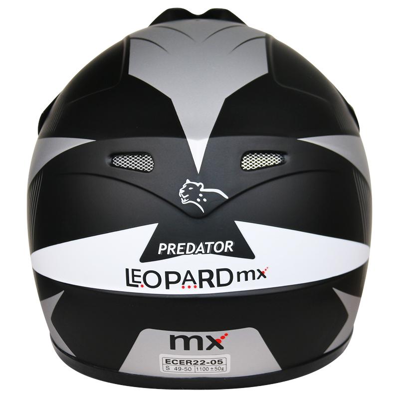 LEOPARD-LEO-X19-Enfants-Casque-de-Moto-Cross-Gants-Off-Road-Bike-Quad miniature 38