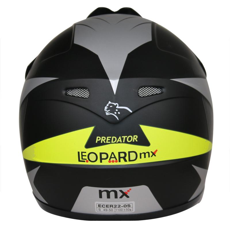 LEOPARD-LEO-X19-Enfants-Casque-de-Moto-Cross-Gants-Off-Road-Bike-Quad miniature 65