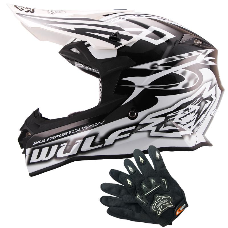 wulfsport sceptre adulte casque de moto cross leopard gants off road atv crash ebay. Black Bedroom Furniture Sets. Home Design Ideas