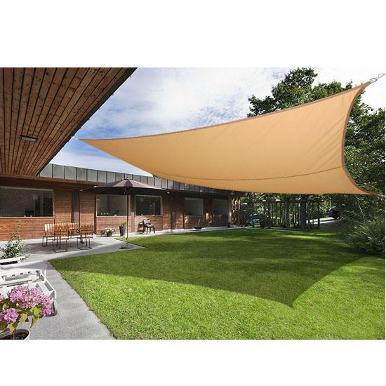 details about sun shade sail garden patio awning canopy sunscreen 98