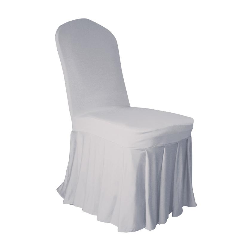jupe pliss e housse de chaise couverture mariage banquet de mariage 9 couleurs ebay. Black Bedroom Furniture Sets. Home Design Ideas