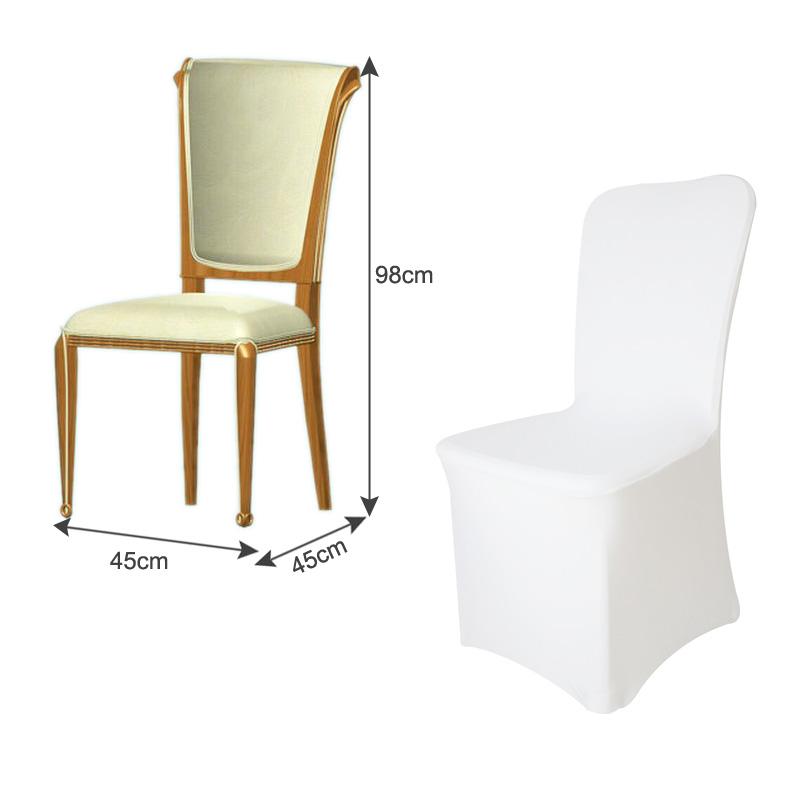 50x housse de chaise en spandex lycra haut de gamme d co for Housse lycra