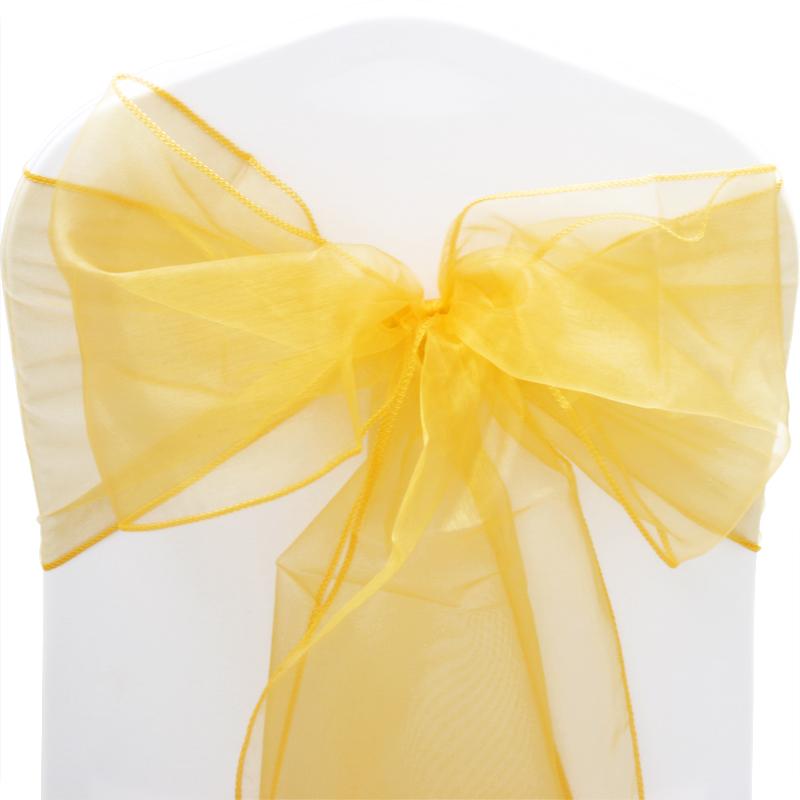 organza sashes chair cover sash fuller bow wedding