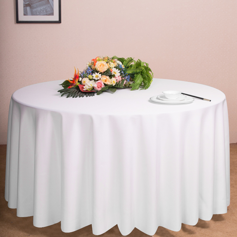 1 5 10 round polyester tablecloth table cover cloth