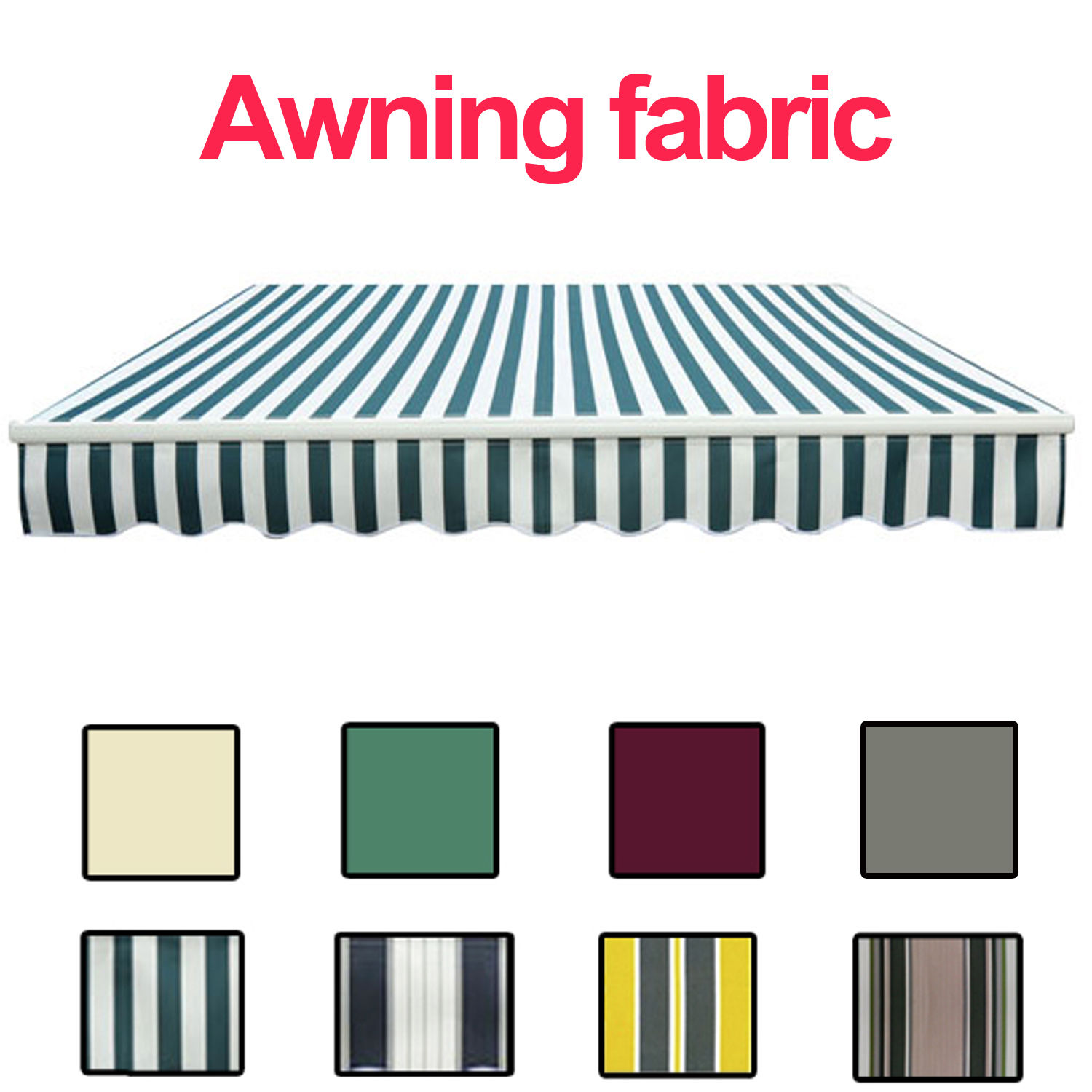 Replacement Fabric For Awning Canopy Garden Sun Shade ...