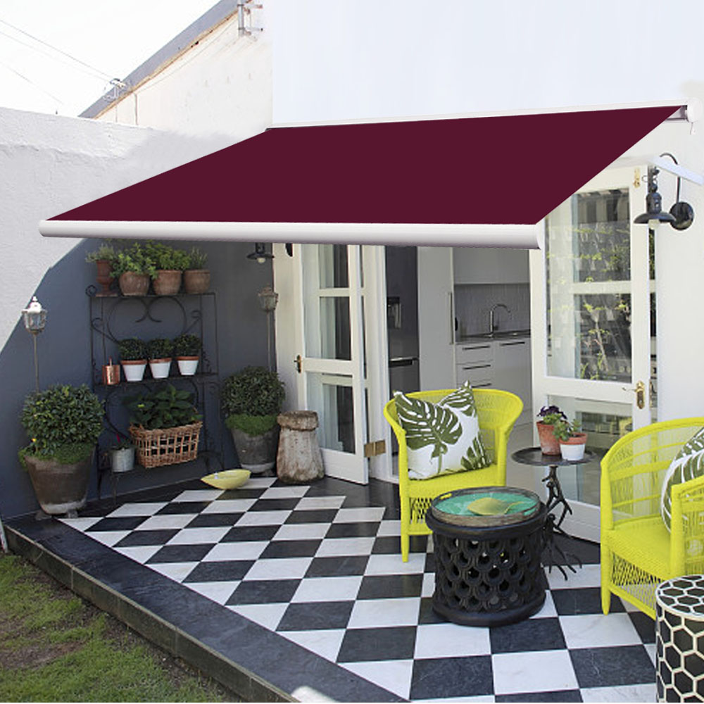 3x2 5M Full Cassette Electric Patio Garden Awnings