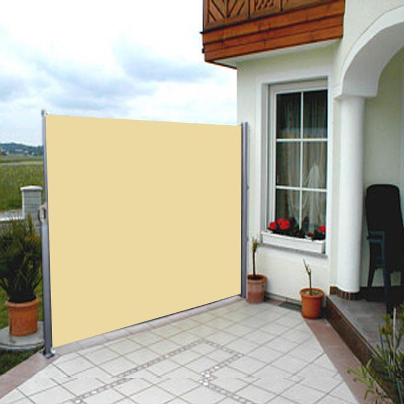 Side Awning Blind Patio Garden Balcony Sunshade Screen