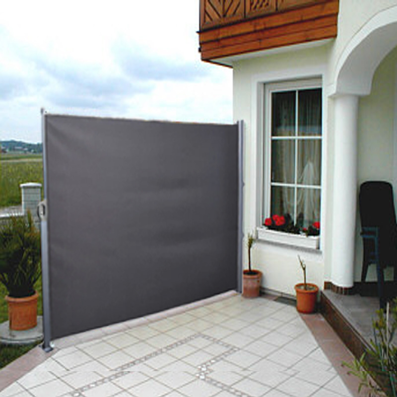 Side Awning Blind Patio Garden Balcony Sunshade Screen Panel Break 16x3M New