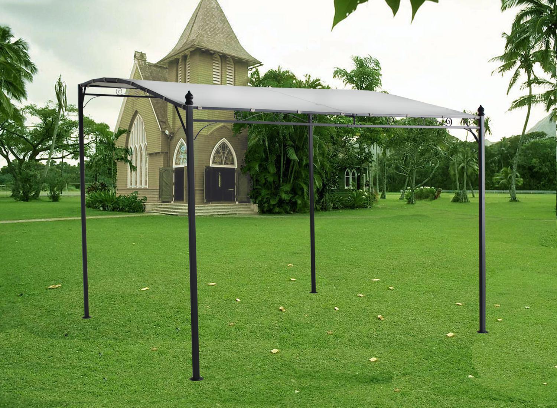 Metal Gazebo Awning Canopy Pergola Shade Marquee Shelter ...