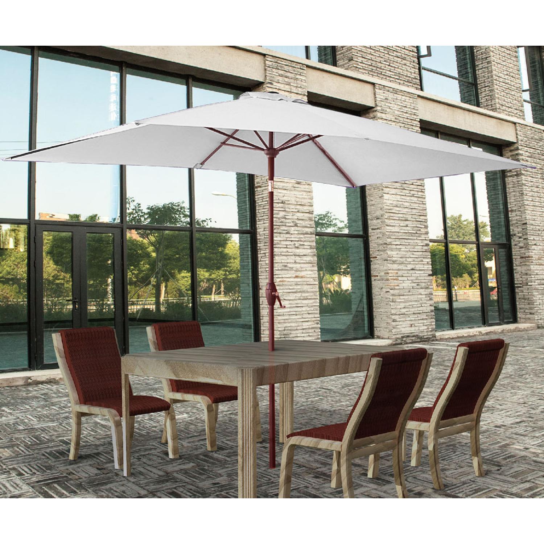 w x actual garden umbrella offset at shop lowes l com red common patio pin treasures ft