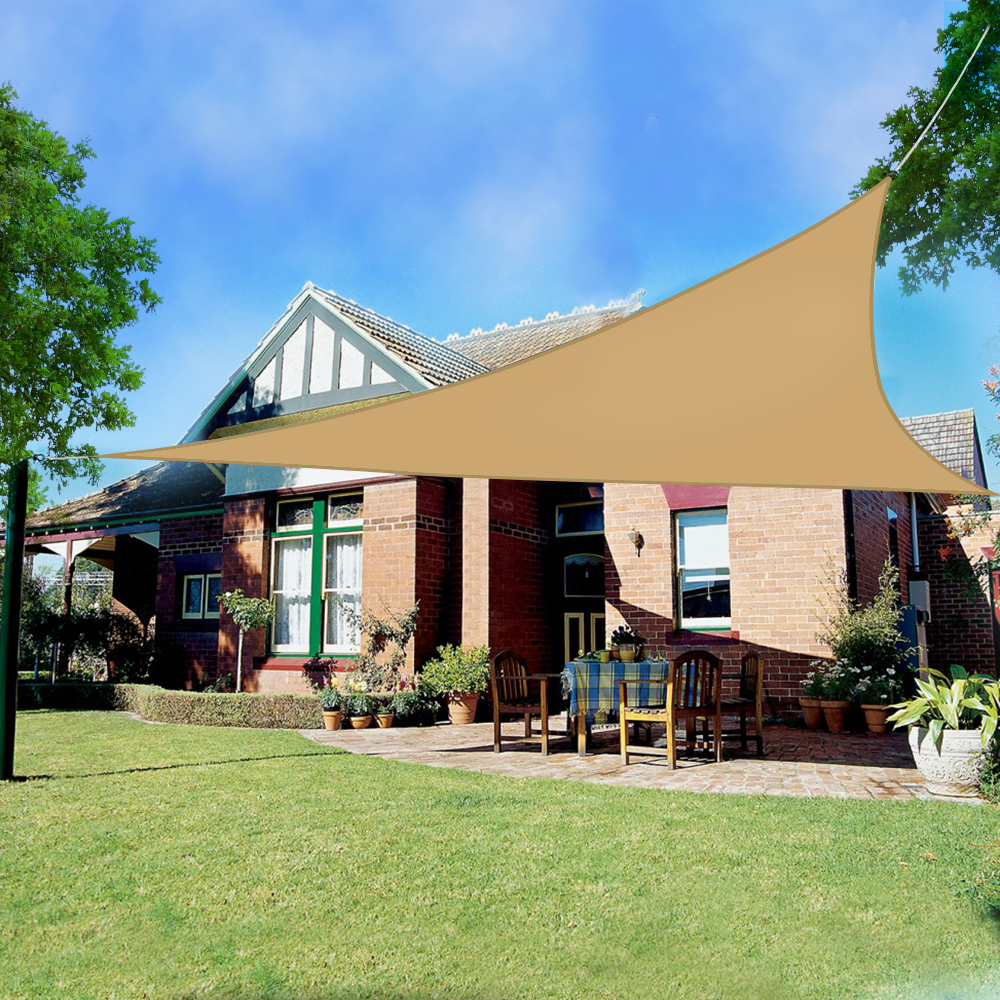 Sun Shade Sail Garden Patio Sunscreen Awning Canopy 98% UV