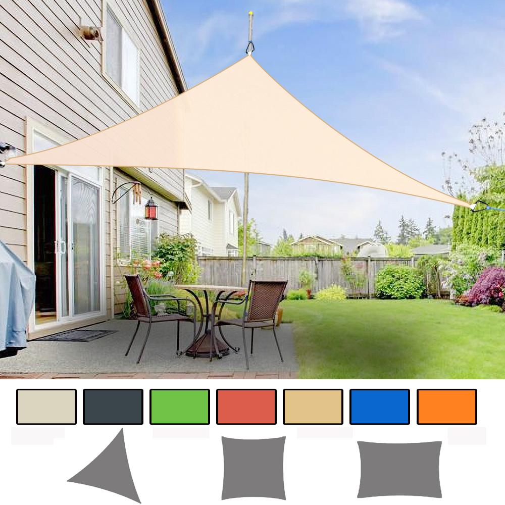 4x3M Sun Shade Sail Awning Canopy Waterproof UV Block Sunscreen Garden Patio