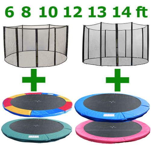 Shop Gymax 14 Ft Trampoline Safety Pad Epe Foam Spring: 6 8 10 12 13 14 FT TRAMPOLINE REPLACEMENT PAD SAFETY NET
