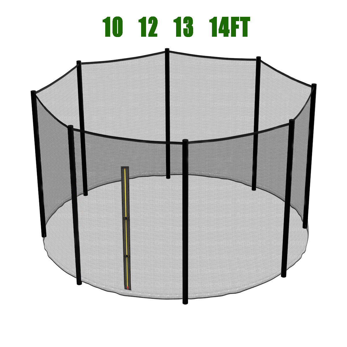 6 8 10 12 13 14 Ft Trampoline Replacement Pad Safety Net
