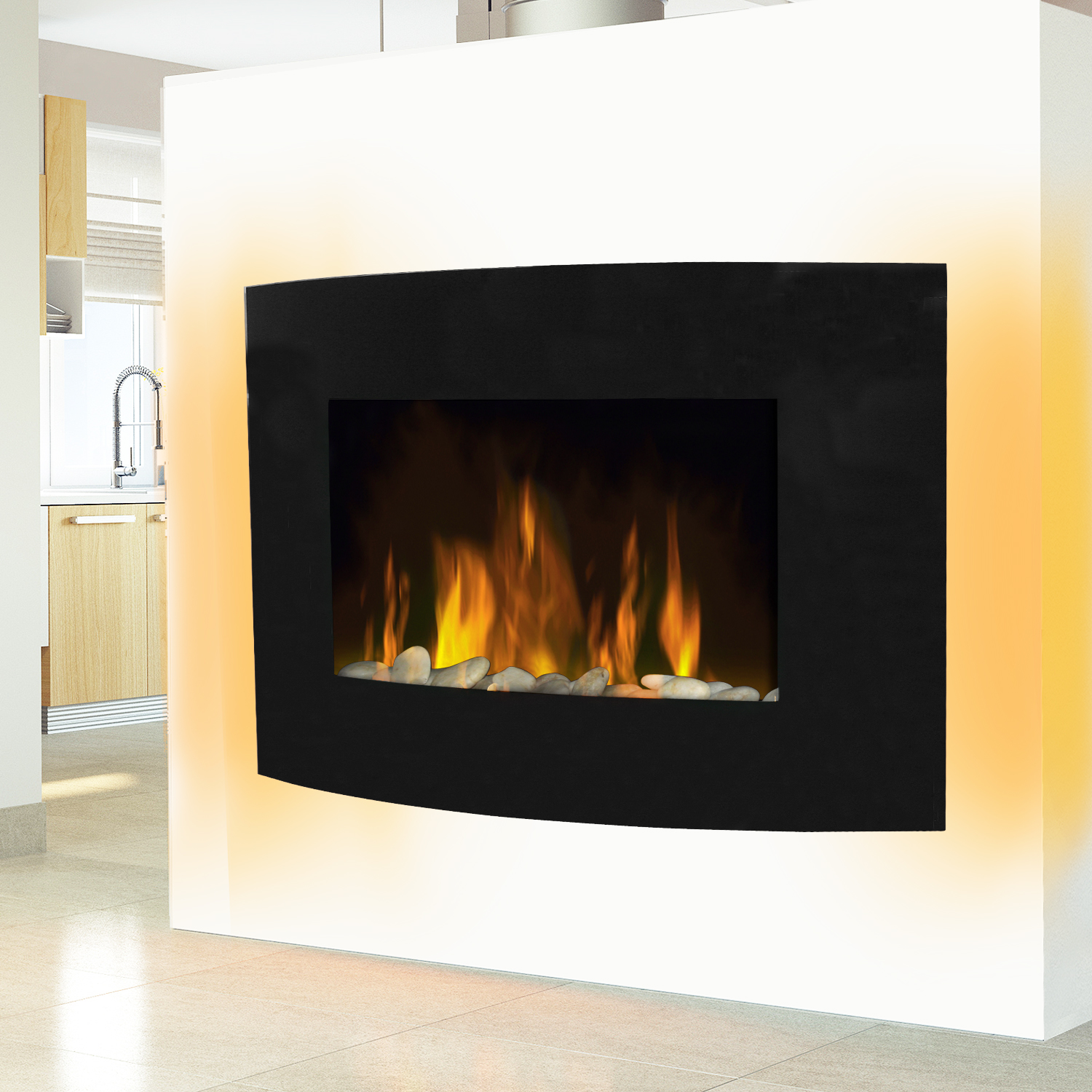 electric living room fires modern electric fireplace heater place effect 14028