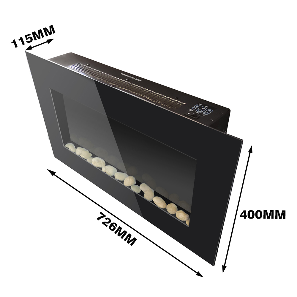 thumbnail 20 - Modern Electric Fireplace Heater Fire Place Flame Effect Stove Living Room