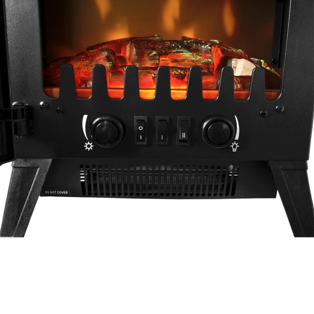 thumbnail 53 - Modern Electric Fireplace Heater Fire Place Flame Effect Stove Living Room