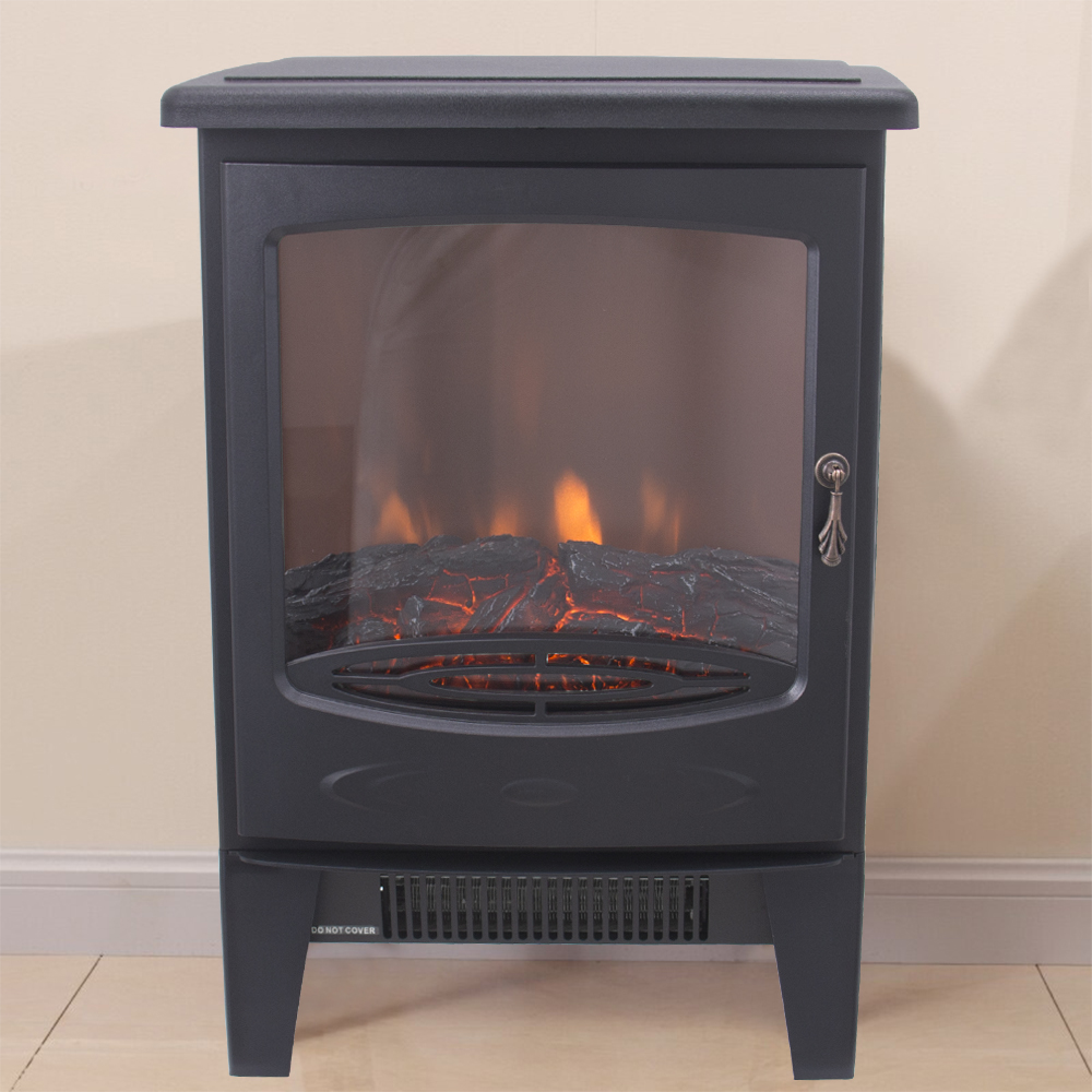 thumbnail 44 - Modern Electric Fireplace Heater Fire Place Flame Effect Stove Living Room
