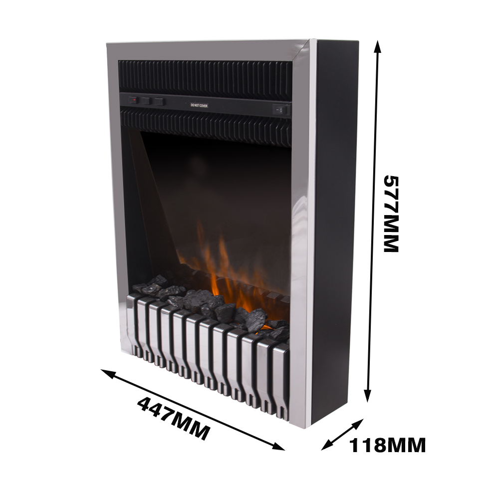 thumbnail 28 - Modern Electric Fireplace Heater Fire Place Flame Effect Stove Living Room