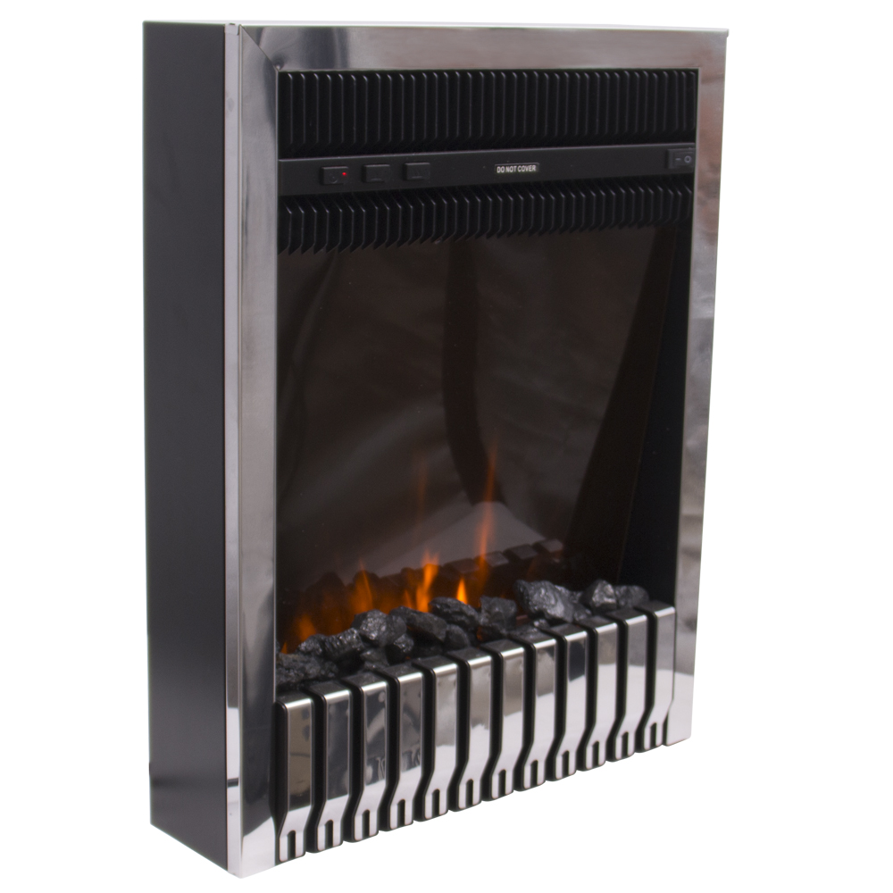 thumbnail 30 - Modern Electric Fireplace Heater Fire Place Flame Effect Stove Living Room