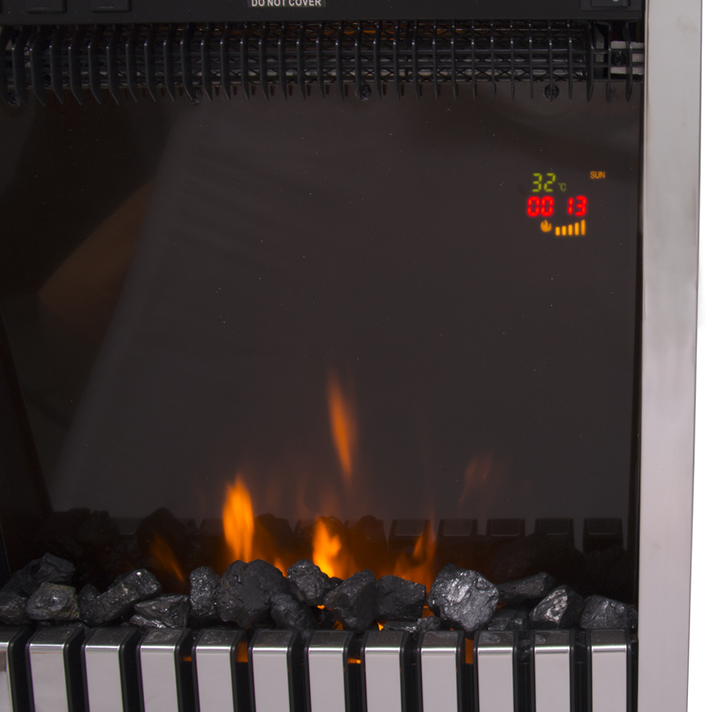 thumbnail 33 - Modern Electric Fireplace Heater Fire Place Flame Effect Stove Living Room