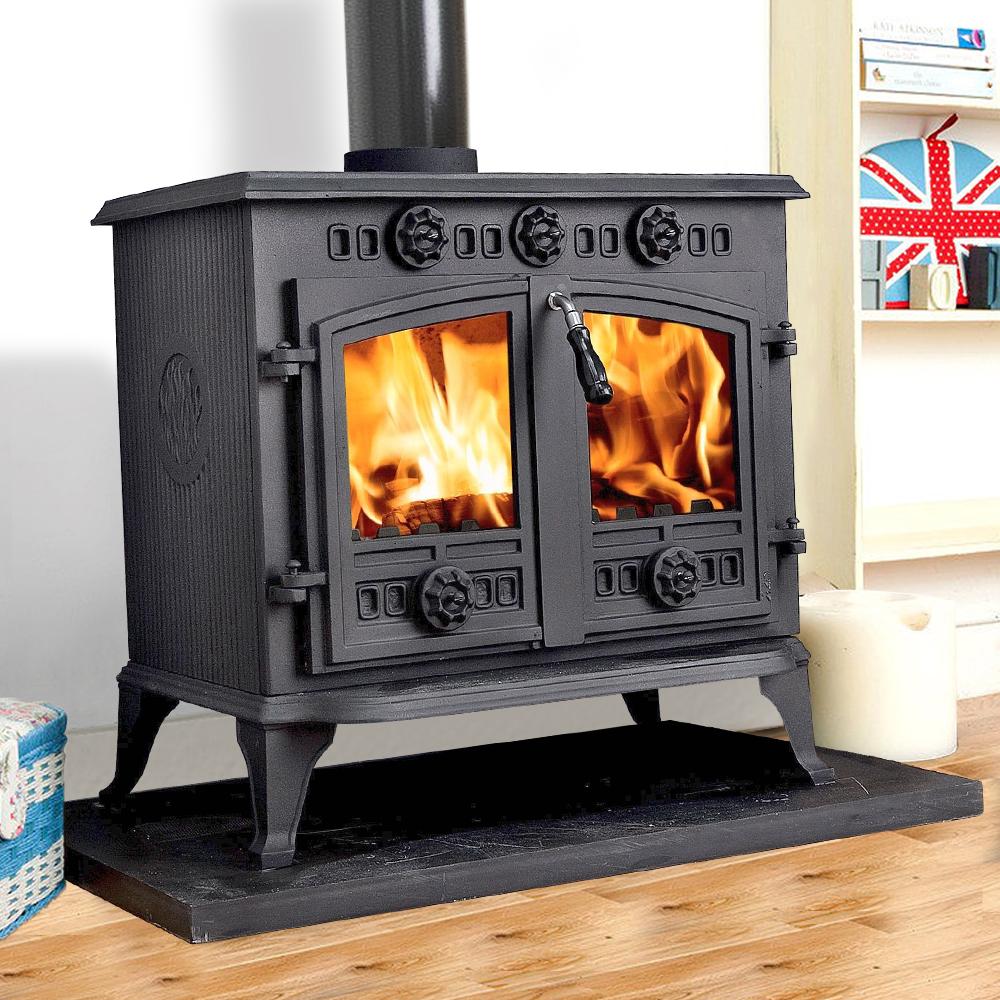 12kw Cast Iron Log Burner Woodburner Multifuel Wood