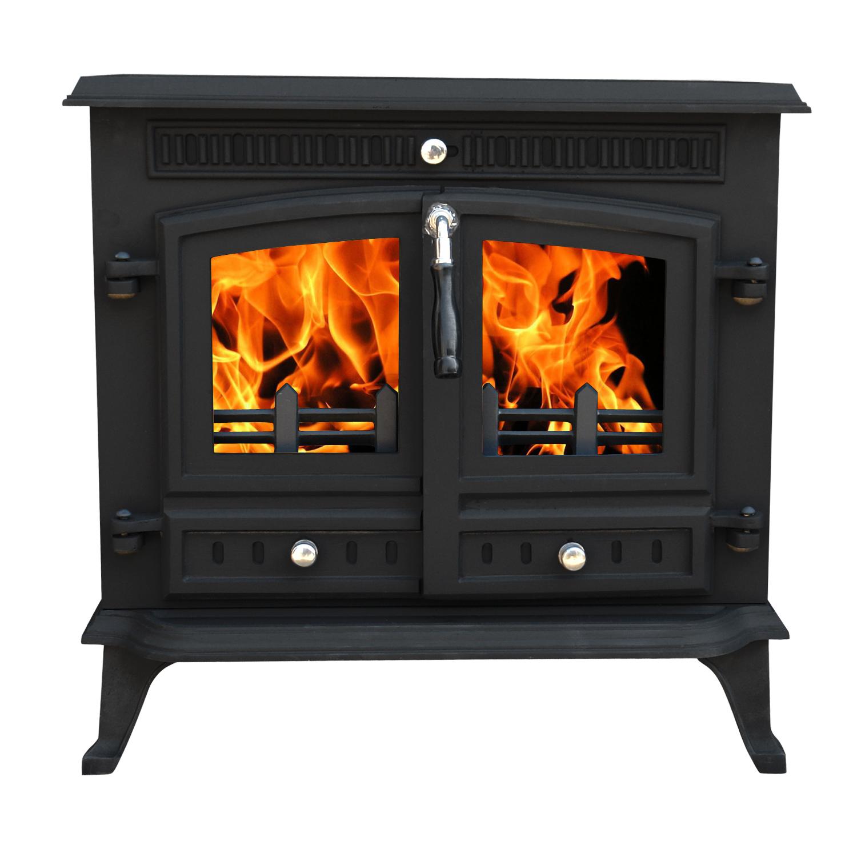 Ja032 12kw Cast Iron Log Burner Multifuel Woodburning