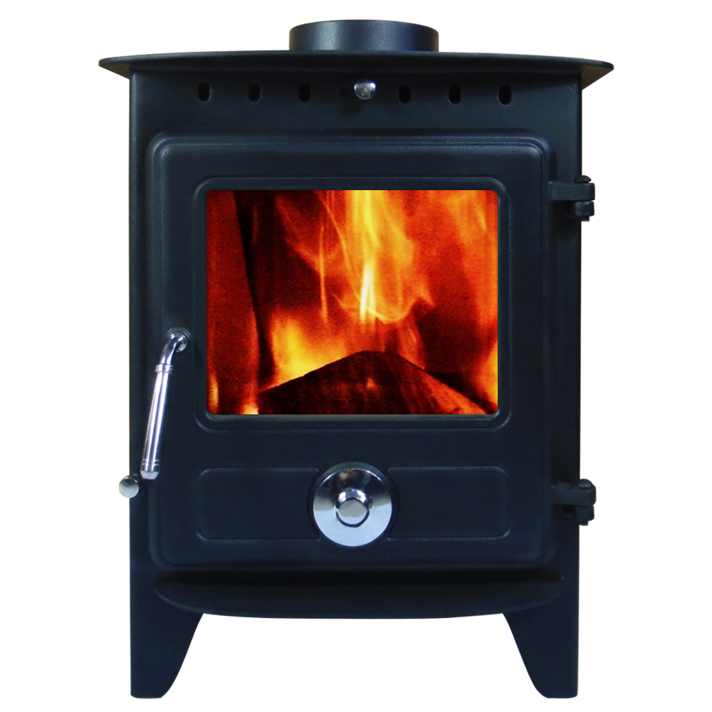 6 5kw Reepham Clean Burn Modern Log Burner Multifuel
