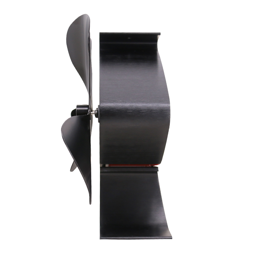Double Stove Fan For Fireplace Wood Log Burner Twin Blades