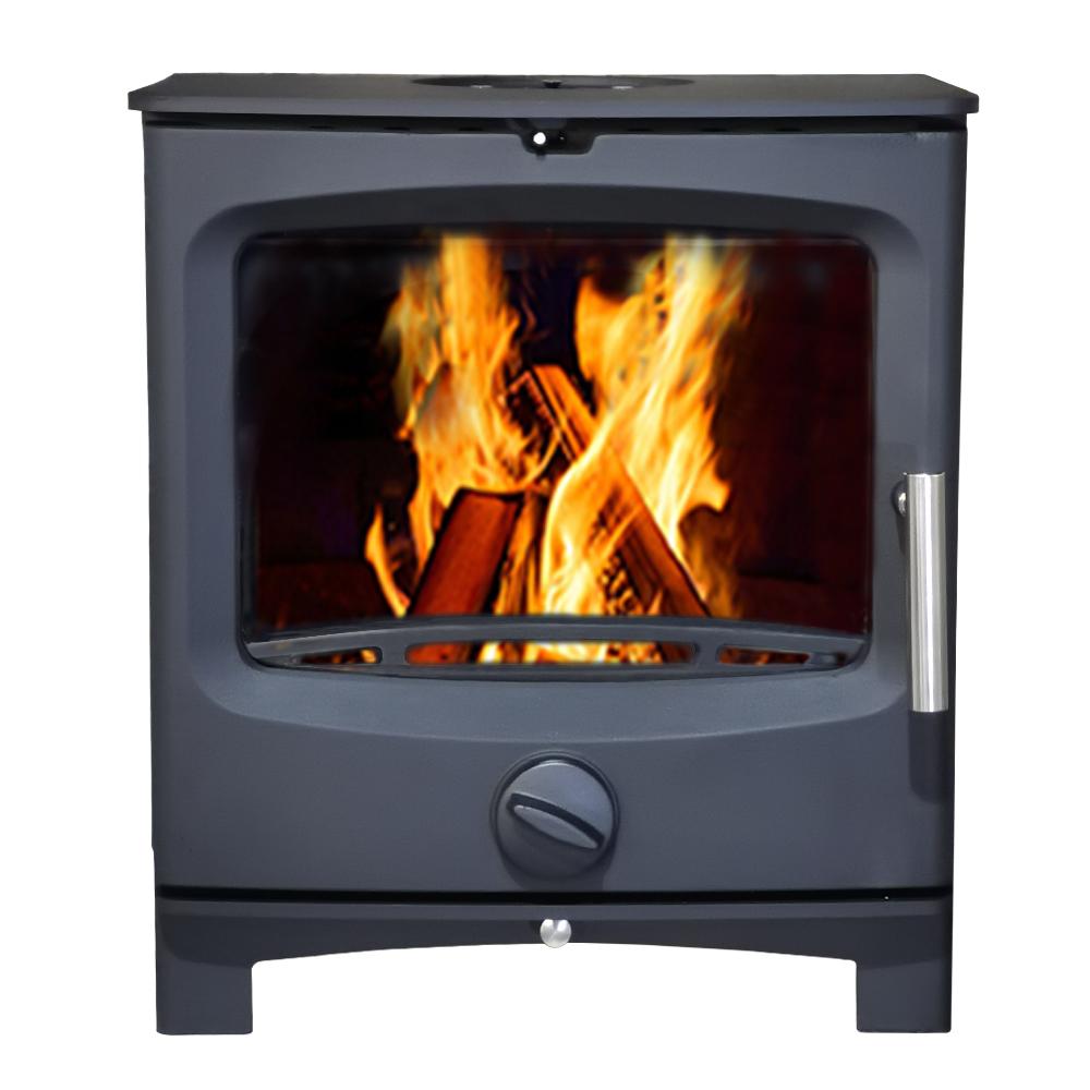 thumbnail 17 - 5kw Defra Multifuel Wood Log Burning Stove Eco Design Ready WoodBurner Fireplace