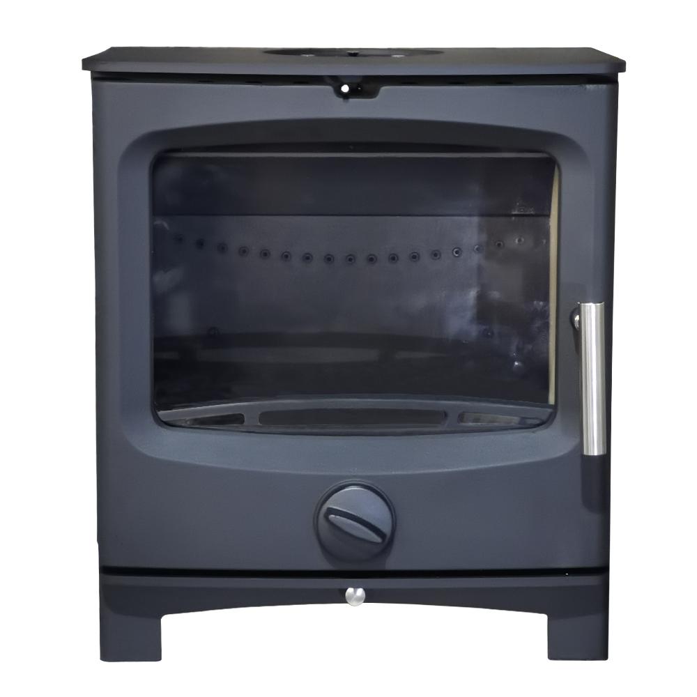 thumbnail 18 - 5kw Defra Multifuel Wood Log Burning Stove Eco Design Ready WoodBurner Fireplace