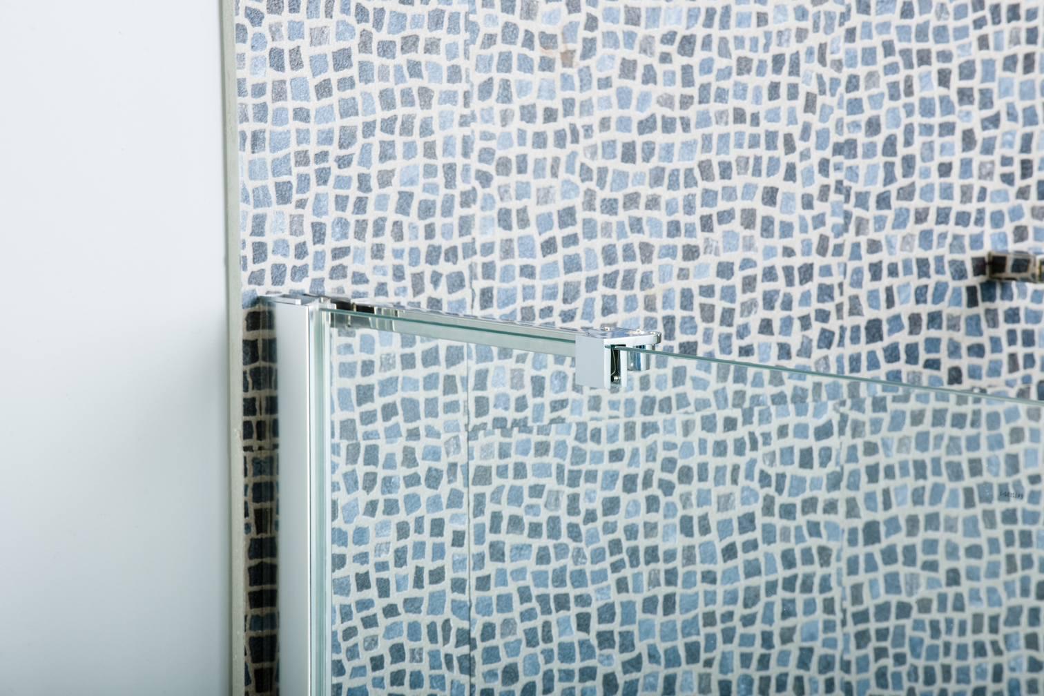 Hinged Wet Room Shower Screen Mm Glass