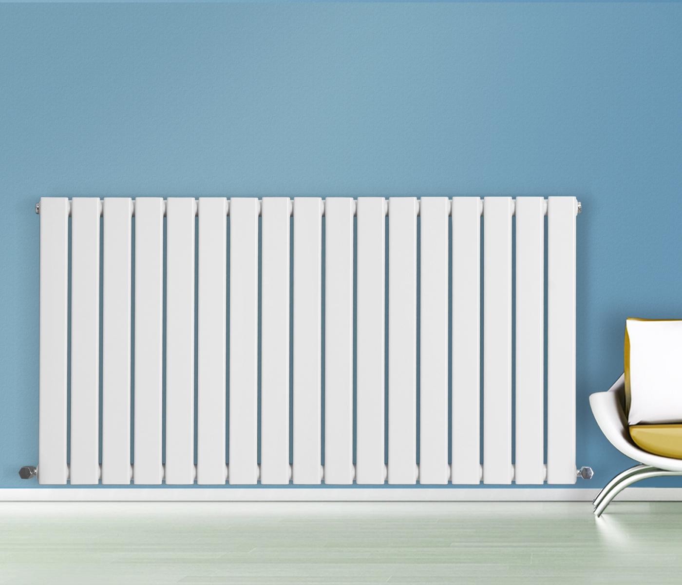 600x1156mm Horizontal Designer Radiator Flat Panel Central Heating ...