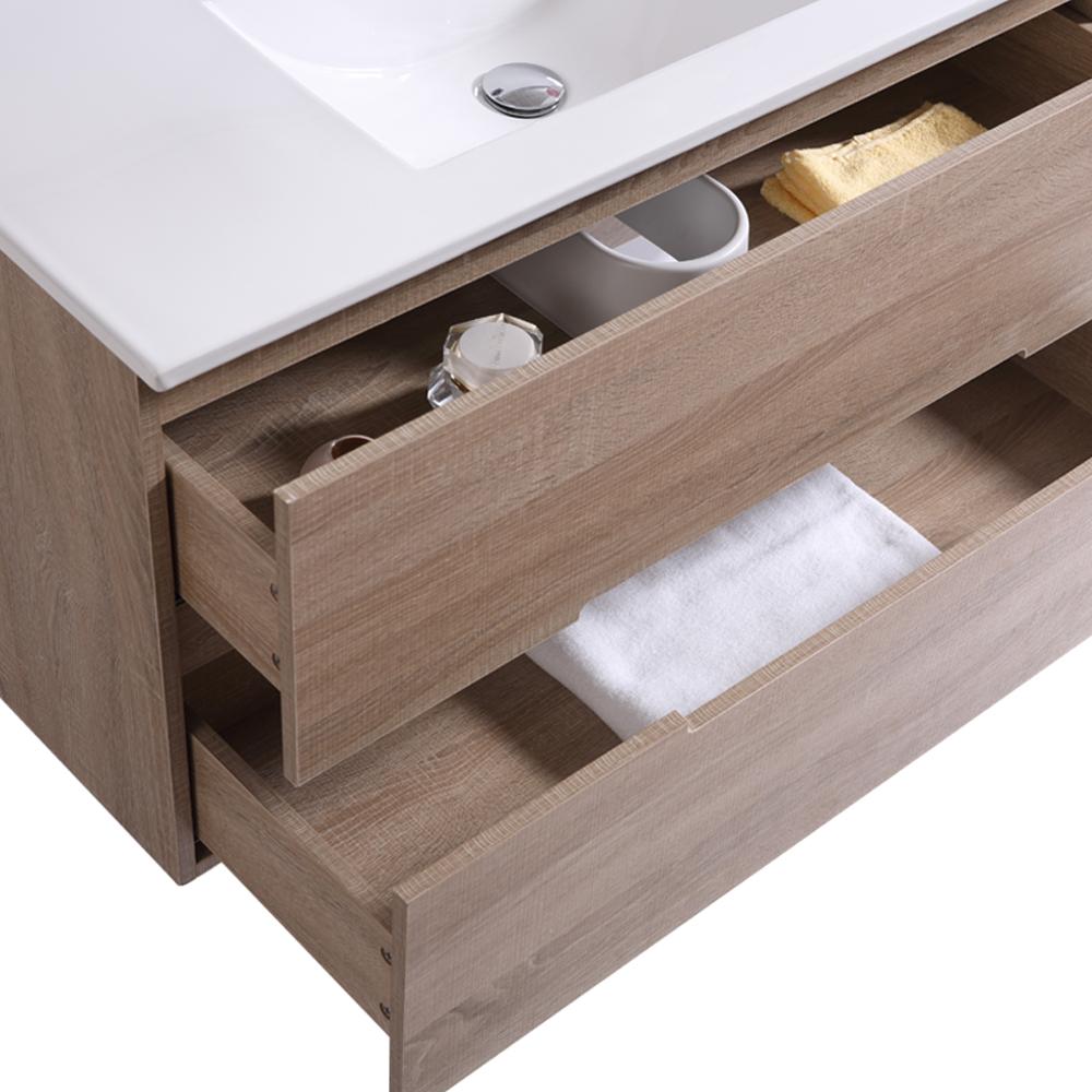 Bathroom Vanity Unit Basin Sink Tall Floor Standing Wall ...