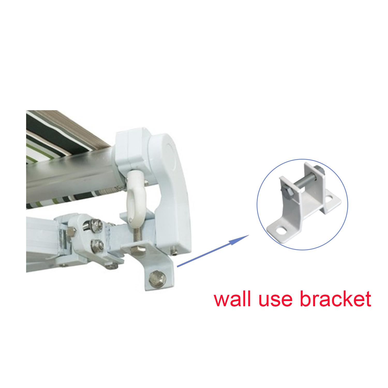 Standard Awning Bracket Fit 35mm Square Torsion Bar Wall
