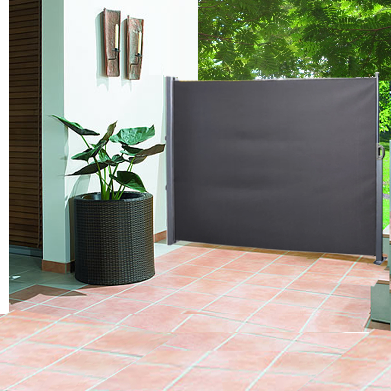 Side Awning Blind Sunshade Patio Garden Terrace Screen