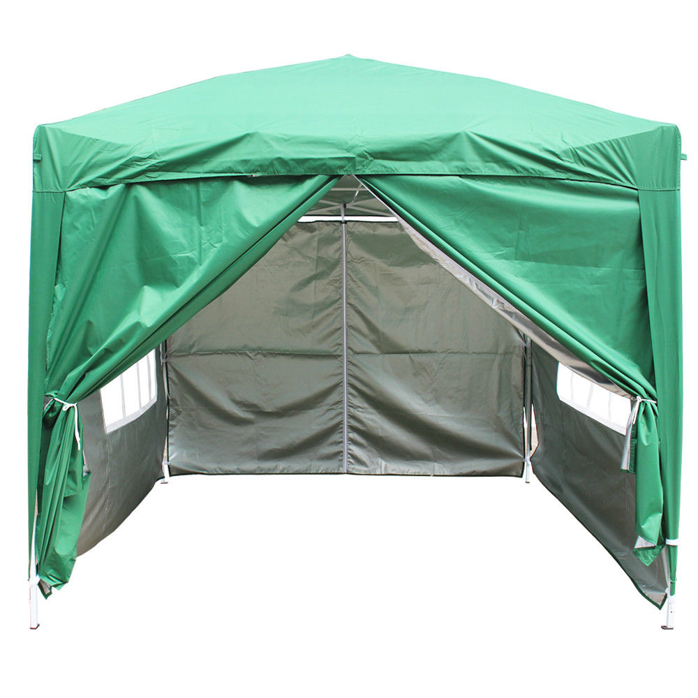 2x2m Pop Up Gazebo Party Marquee Tent Outdoor Canopy With