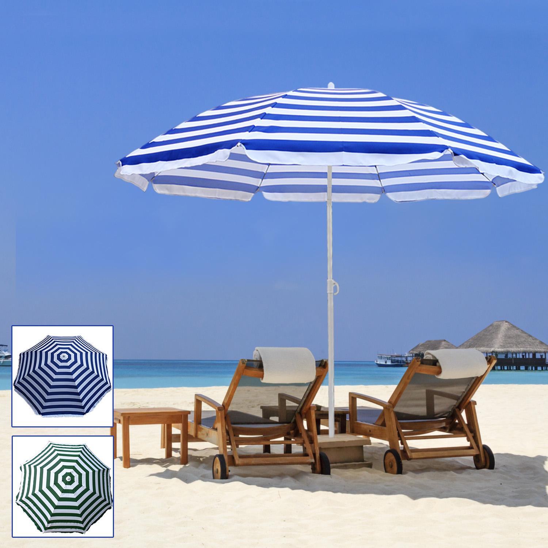 160cm 180cm Outdoor Garden Beach Patio Tilt Umbrella