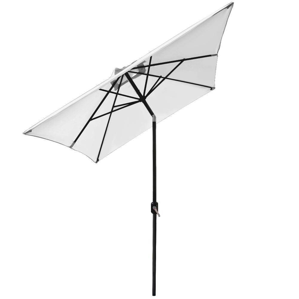 2x3m Garden Parasol Umbrella Patio Sun Shade Aluminium