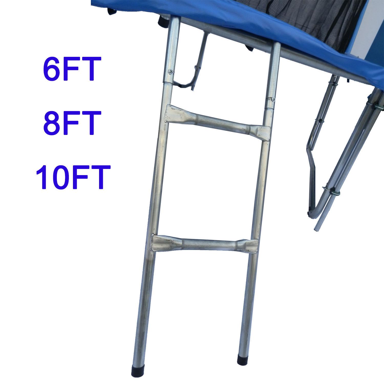 Garden Trampoline Ladder 2 3 Step Safe Universal Fit 6 8