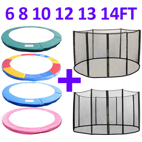 14 Ft Trampoline Safety Pad Epe Foam: TRAMPOLINE REPLACEMENT PAD PADDING SAFETY NET ENCLOSURE 6