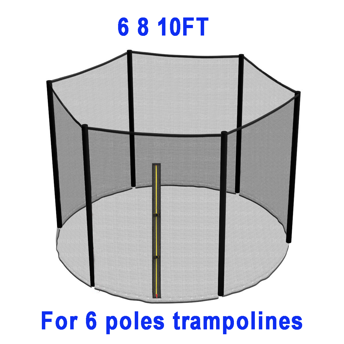 TRAMPOLINE REPLACEMENT PAD PADDING SAFETY NET ENCLOSURE 6