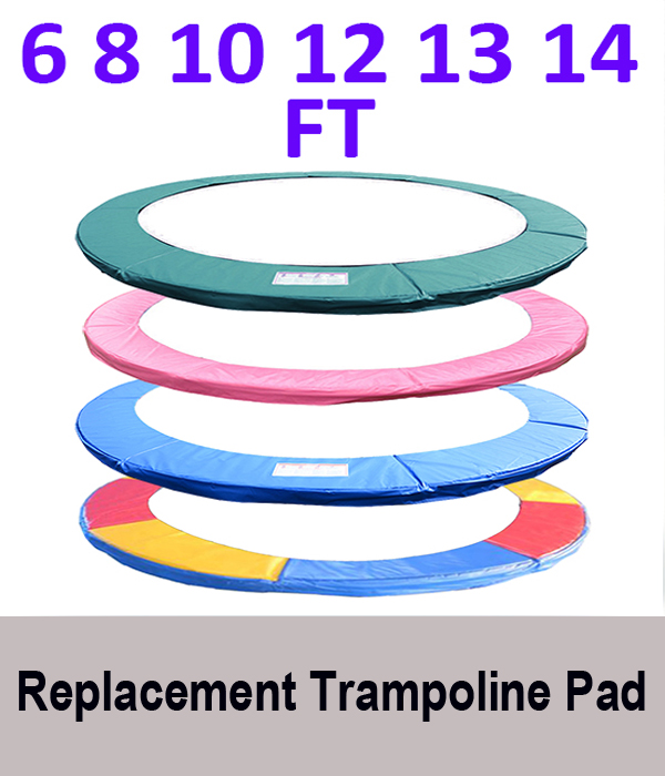Shop Gymax 14 Ft Trampoline Safety Pad Epe Foam Spring: TRAMPOLINE REPLACEMENT PAD SAFETY NET RAIN COVER LADDER