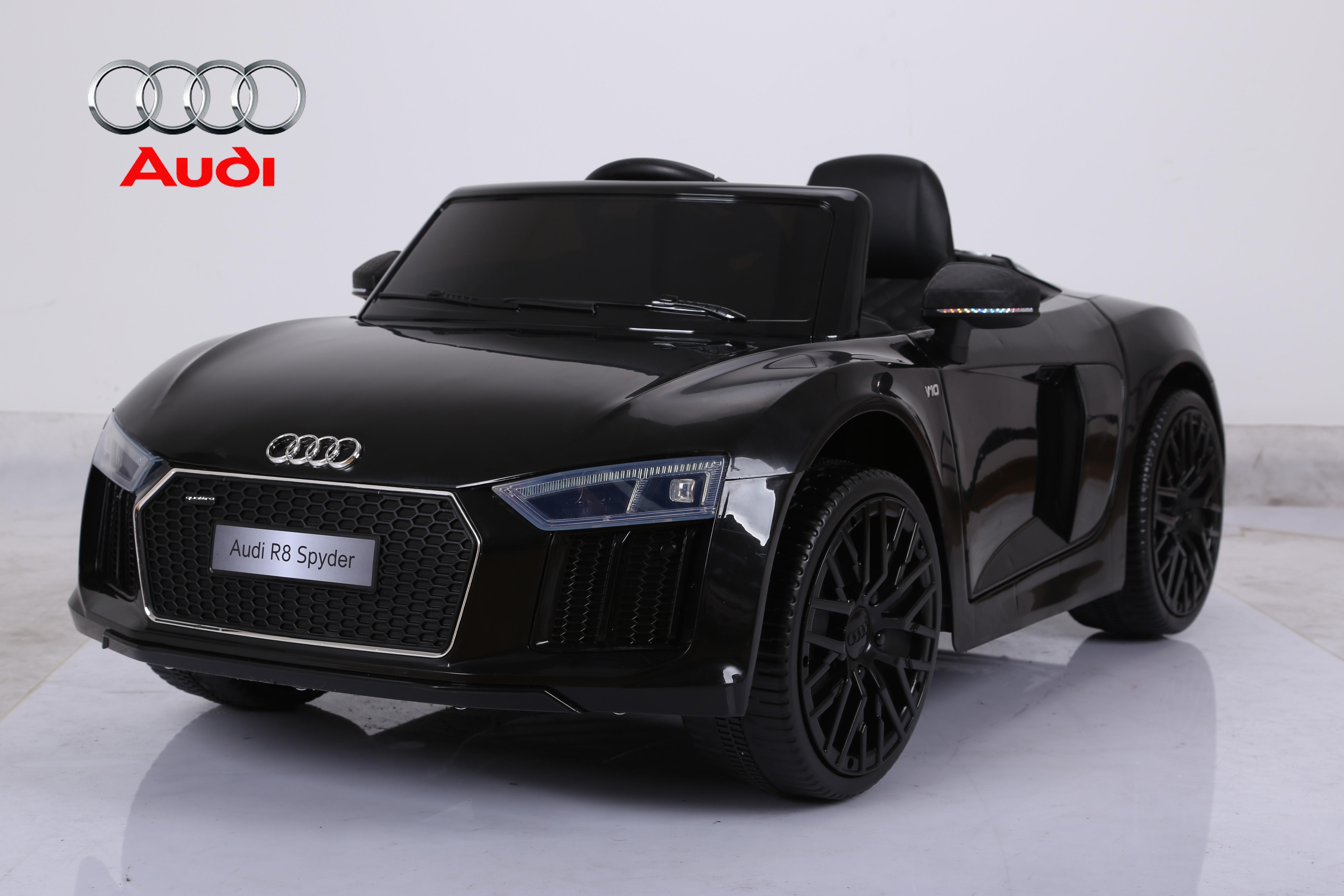 Audi R8 Licensed Kids Ride On Car 12v Twin Motor Remote