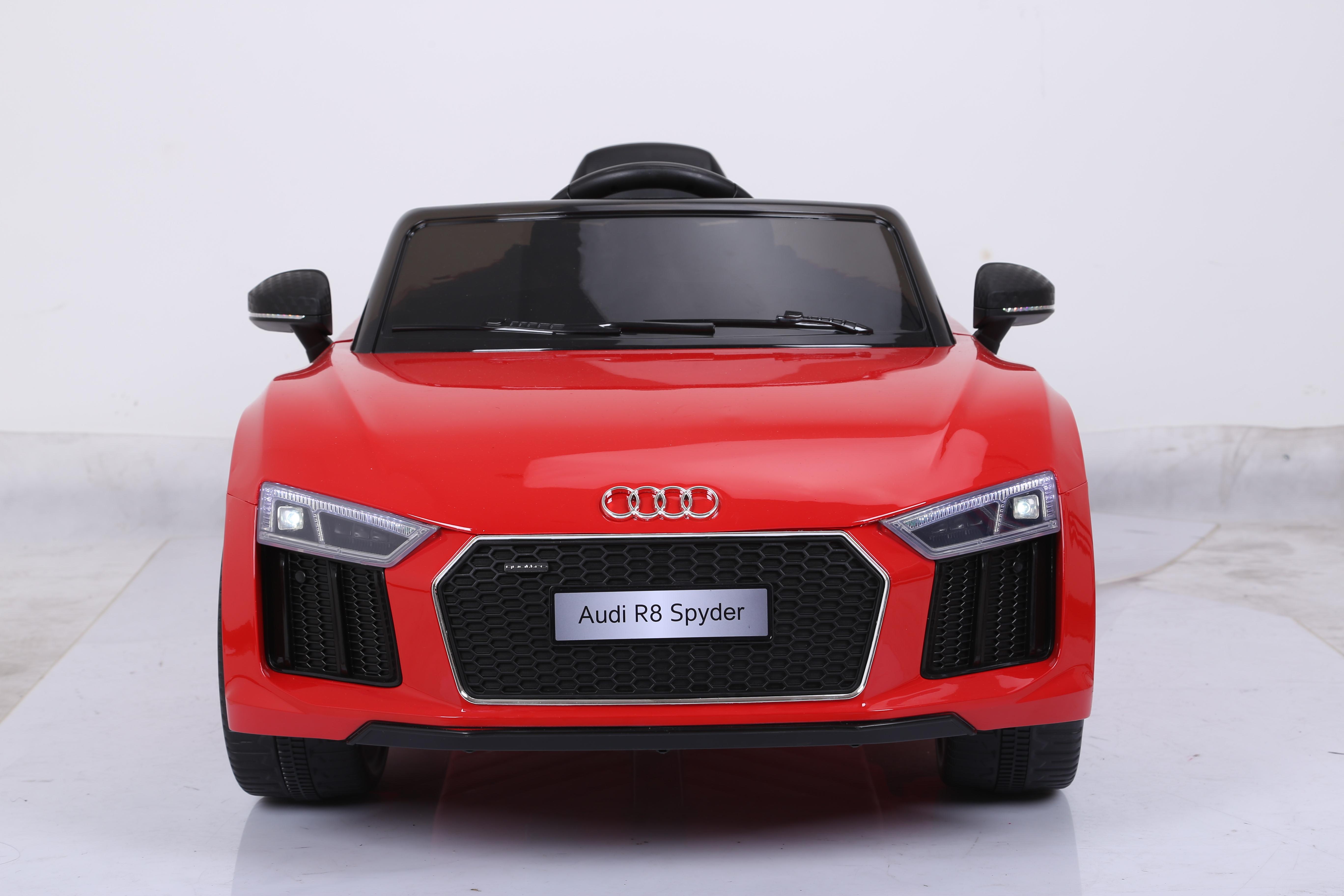 Audi R8 Licensed Kids Ride On Car 12v Remote Control Cars