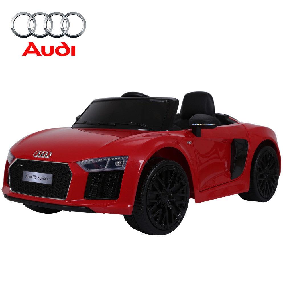 Licensed Audi R8 Spyder Sports Car Kids 12V Ride On Car R