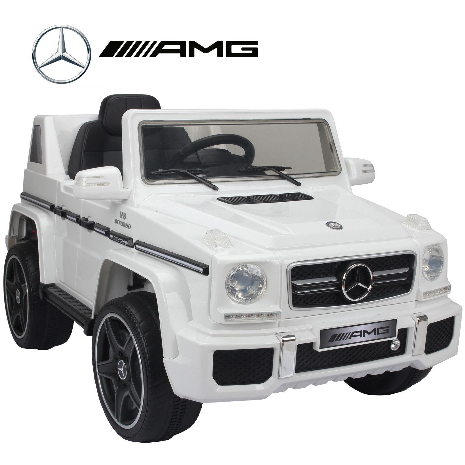 Mercedes Benz G63 Used: KIDS RIDE ON CAR MERCEDES BENZ G63 12V REMOTE CONTROL CAR